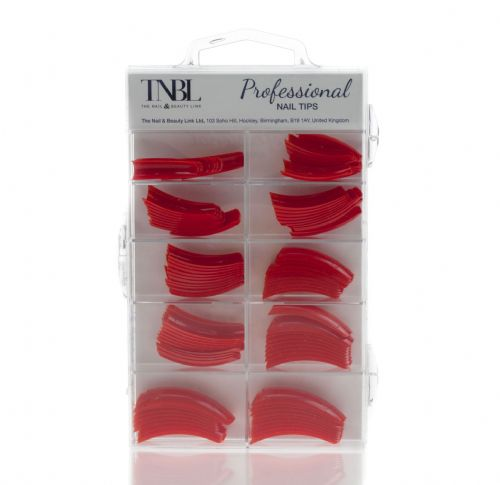 TNBL Professional Nail Tips Box of 100 in different colours